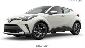 Latest Toyota C-HR Models