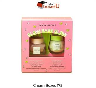 Cream box Available in All Sizes & Shapes at wholesale