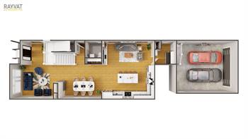 Enhance your Real Estate property design with 3D Floor Plan Rendering