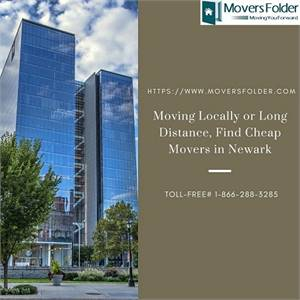 Moving Locally or Long Distance, Find Cheap Movers in Newark