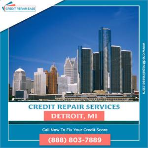How to get Clean Up Credit Report in Detroit? | (888) 803-7889
