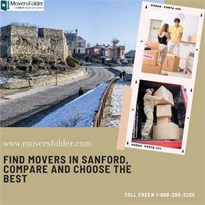Find Movers in Sanford, Compare and Choose the Best