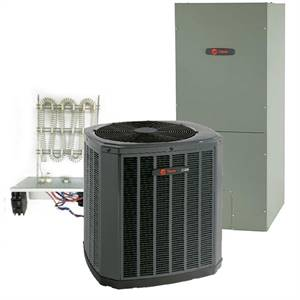 Trane 4 Ton 16.5 SEER Single Stage Heat Pump System Includes Installation