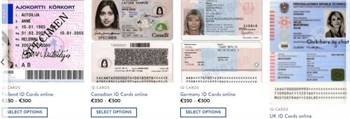 We make the best Scannable Counterfeit ID cards, Driving Licenses
