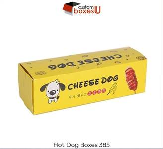 Hotdog boxes with Printed logo & Design in Texas
