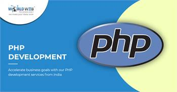 Custom PHP web development Company India | PHP Website Development Services
