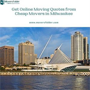 Get Online Moving Quotes from Cheap Movers in Milwaukee