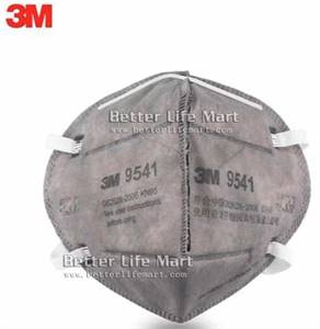 3M 9541 KN95 particulate respirator Activated Carbon face mask, 25pcs/box, big sale