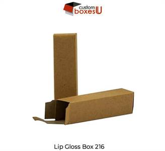 heck out our wide range of custom lip gloss packaging with unique design in the USA.