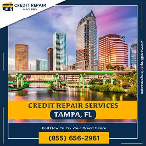 Credit Repair Offers a Variety of Services to Fix Your Bad Credit in Tampa, FL