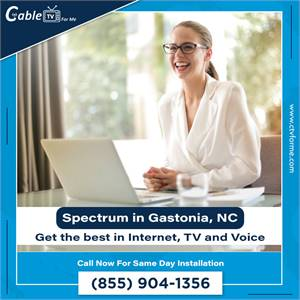 Get the best Cable Internet service in your area Gastonia, NC