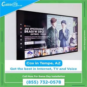 Cox Internet Packages in Tempe, AZ