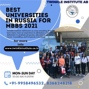 top  mbbs consultant russia 2021  Twinkle InstituteAB