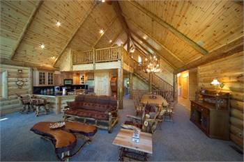Knotty Pine Paneling by The Log Home Shoppe