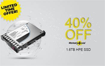 Get 40% Discount on P04174-003 HPE 1.6TB Internal Solid State Drive (SSD)