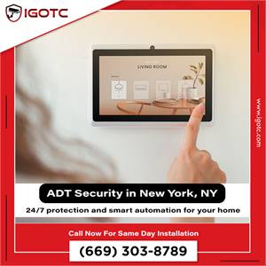 Buy ADT Home Security System in New York, NY