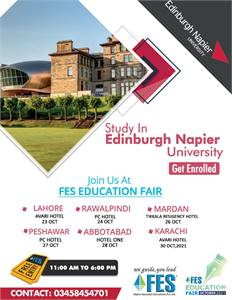 Join us at FES Education Fair October 2021 & MAKE YOUR DREAMS