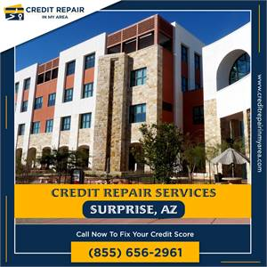 Fix and improve your credit repair services in Surprise
