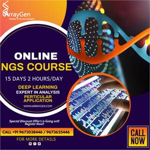 GLOBALLY CERTIFIED ONLINE NGS BIOINFORMATICS COURSE