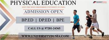 Physical education  Admission 2021-22 | Check Eligibility, Selection Process, Fees Structure, Career