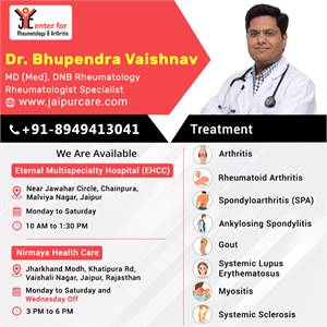 GET ARTHRITIS TREATMENT BY EXPERIENCED RHEUMATOLOGIST NEAR YOU