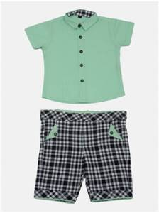 Mint Green Shirt Pant Set