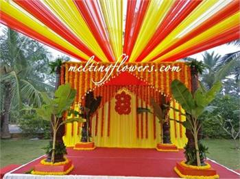 Flower Decoration Chennai, Garden Wedding Chennai, Wedding Decoration Chennai