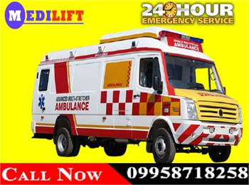 Try to Get Medilift Low Fare Ambulance Service in Madhubani