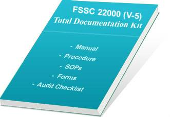 FSSC 22000  Documentation for Food Safety System Certification