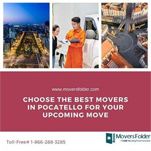 Choose the Best Movers in Pocatello for your Upcoming Move