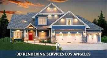 Professional 3D Rendering Services Los Angeles at Reasonable Prices