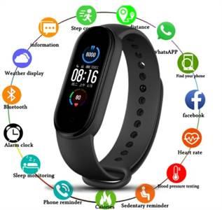 2021 Best M5 Smart Sports Bracelet Smartwatch in Pakistan - Sadabahaar