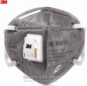 3M 9541V  KN95 particulate respirator Activated Carbon face mask, 20pcs/box, big sale