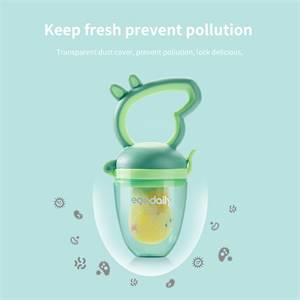 High Quality Food Biting Baby Pacifier Safe Soft Silicone Baby Fruit Vegetable Feeder Manufacturer