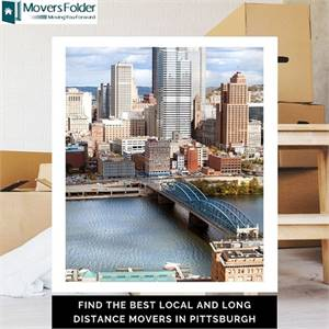 Find the Best Local and Long Distance Movers in Pittsburgh