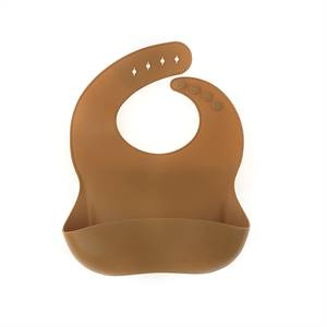 Impermeable Soft Food Grade Silicone Baby Food Feeding Bib Manufacturer