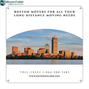 Boston Movers For All your Long Distance Moving Needs