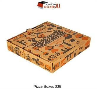 order now custom pizza boxes with creative design in the USA.