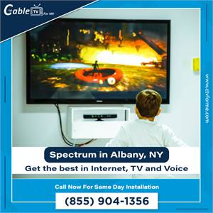Need a new Internet provider? Try Spectrum now in Albany, NY