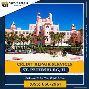 Credit Repair in My Area Helps to Improve Your Score Fast in Saint Petersburg, FL