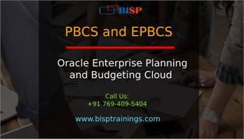 PBCS and EPBCS Online Training   Oracle EPM Consulting