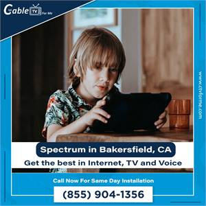 Bundle your TV, Internet, and phone service together now! In Bakersfield, CA
