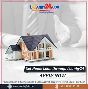 """Get """"Home Loan"""" through Loanby24.   Contact Loanby24  for all your """"Home Loan"""" needs."""