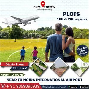 Ready to Move plots near Noida International Airport. Contact Hunt Property.