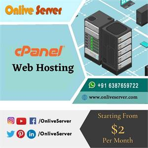 Best Security Features with Onlive Server's Best cPanel Web Hosting