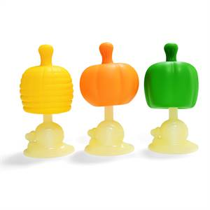 Factory for High Quality Fruit and Vegetable Shape Baby Silicone Teether