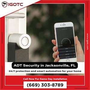 Get ADT high Security Camera Systems in Jacksonville, FL