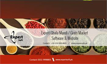 Ghala Mandi Grain Market Software   Brokery   Daal Mill - Expert Soft