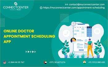 Online Doctor Appointment Scheduling App in  USA  l CONNECTCENTER