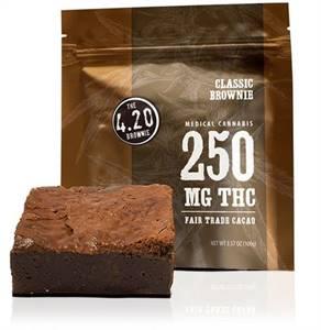 Classic 4.20 Brownie – 250mg